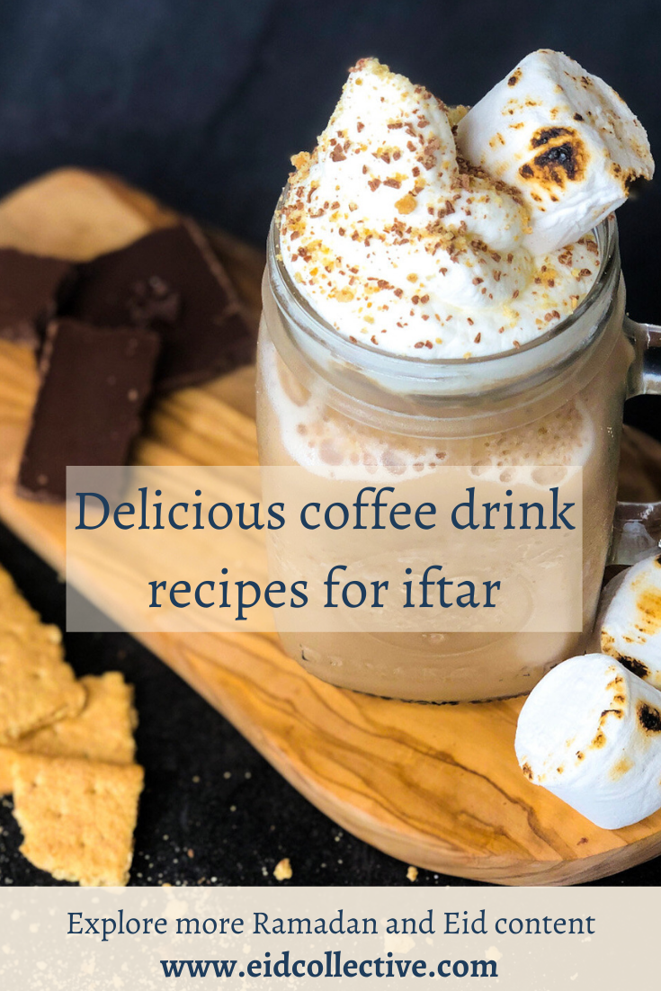 Delicious coffee drink recipes for iftar, Eid Collective. Iftar Drinks, Iftar Drinks Recipes, Best Iftar Drinks, Refreshing Iftar Drinks, Iftar Special Drinks, Ramadan Iftar Drinks, Coffee Drinks for Iftar